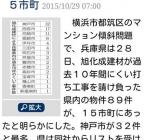 マンション傾斜問題 尼崎市の対応について