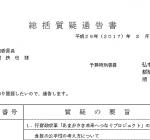 尼崎市議会予算特別委員会 各会派による総括質疑
