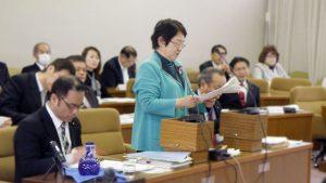 尼崎市議会予算特別委員会の総括質疑