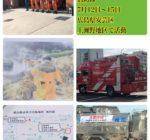尼崎市緊急援助消防隊が任務を終えて、帰庁されました