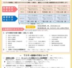 尼崎市 16歳から64歳までのワクチン接種スケジュール